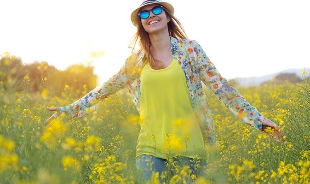 Κατερίνα Τσεμπερλίδου: 36 πράγματα που μας φέρνουν ευτυχία τον Απρίλιο. Καλό μήνα! - Κυρίως Φωτογραφία - Gallery - Video