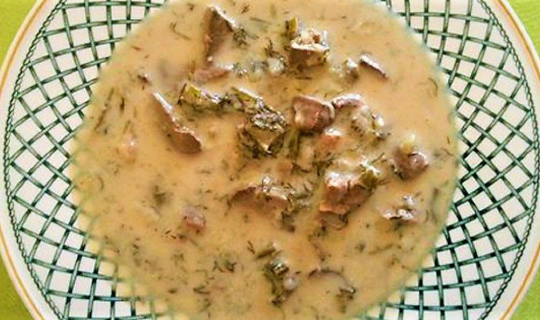 Η καλύτερη σπιτική συνταγή για παραδοσιακή μαγειρίτσα - Η Κατερίνα Τσεμπερλίδου παρουσιάζει  - Κυρίως Φωτογραφία - Gallery - Video