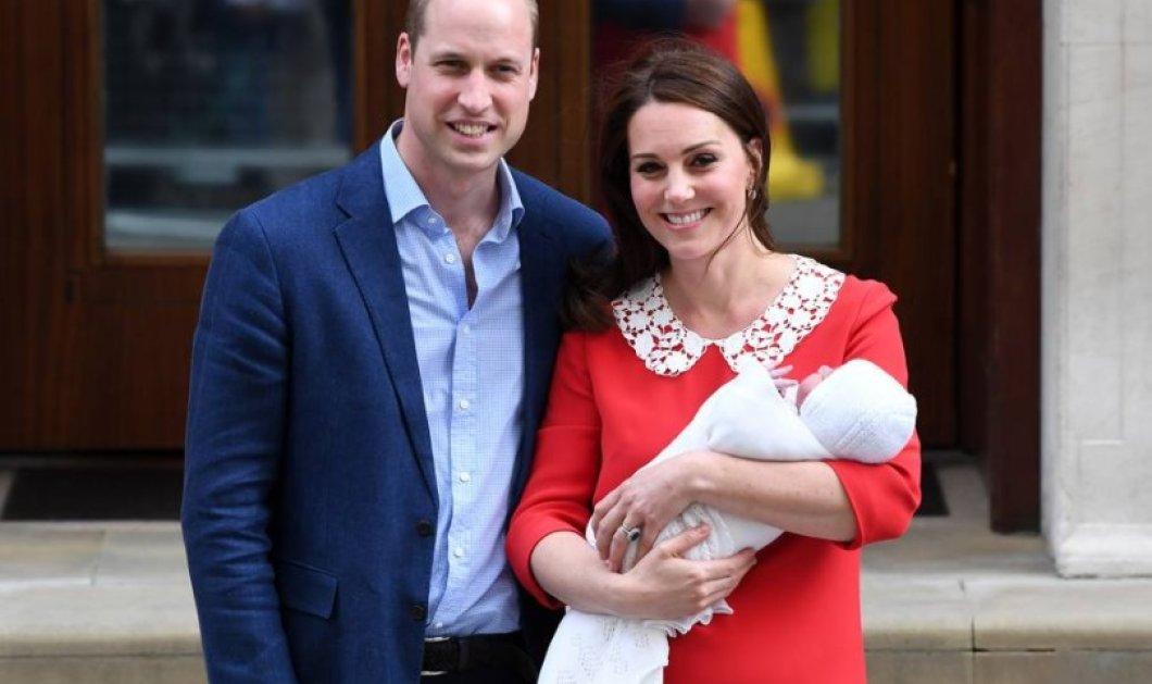 Πρίγκιπας William- Kate Middleton: Οι πρώτες επίσημες φωτογραφίες του πρίγκιπα Louis είναι ό,τι πιο τρυφερό έχετε δει! - Κυρίως Φωτογραφία - Gallery - Video