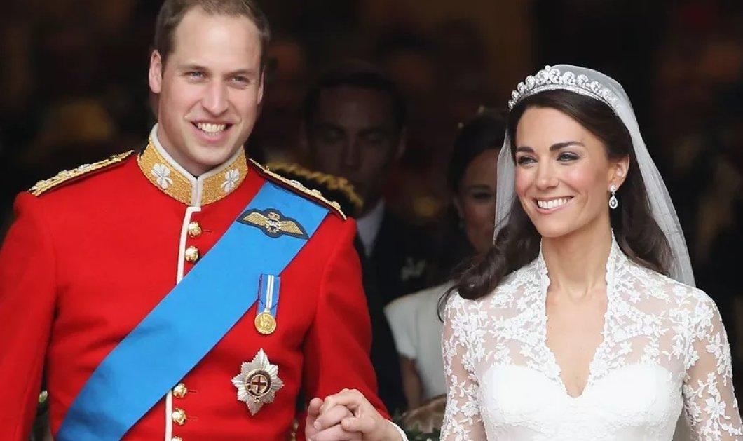 """Η επέτειος γάμου του πρίγκιπα William & της Kate Middleton- H """"χαλαρή"""" φωτό από τον γάμο πριν 7 χρόνια - Κυρίως Φωτογραφία - Gallery - Video"""