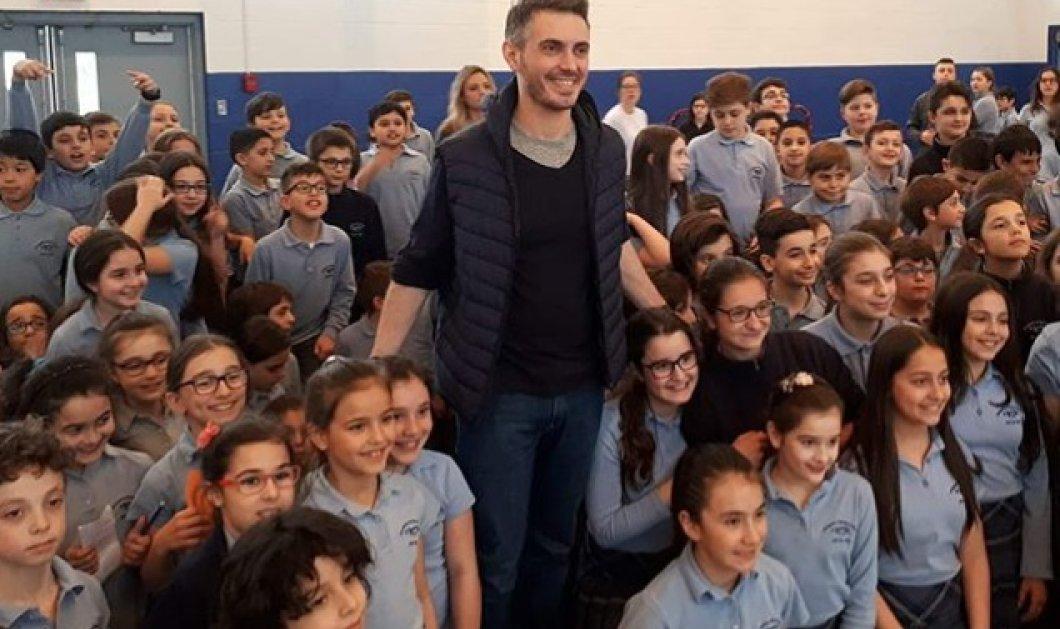 Συναυλίες σε ΗΠΑ & Καναδά για τον Μιχάλη Χατζηγιάννη- Επίσκεψη σε ελληνόφωνα σχολεία (ΦΩΤΟ) - Κυρίως Φωτογραφία - Gallery - Video