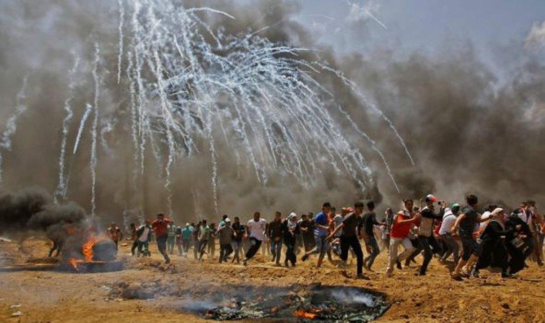 Μακελειό στη Λωρίδα της Γάζας: Τουλάχιστον 28 νεκροί & πάνω από 1000 τραυματίες- Ανάμεσά τους & μικρά παιδιά (ΦΩΤΟ-ΒΙΝΤΕΟ) - Κυρίως Φωτογραφία - Gallery - Video