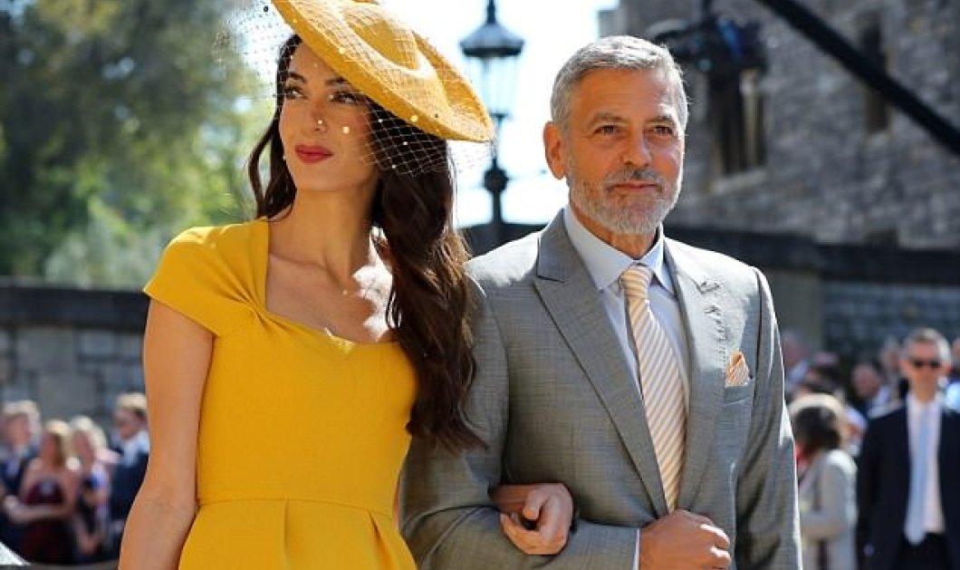 And the winner is...: η  Amal Clooney στέφεται βασίλισσα της κομψότητας στο κίτρινο του ήλιου, ίδια απόχρωση η γραβάτα του Τζωρτζ (ΦΩΤΟ) - Κυρίως Φωτογραφία - Gallery - Video