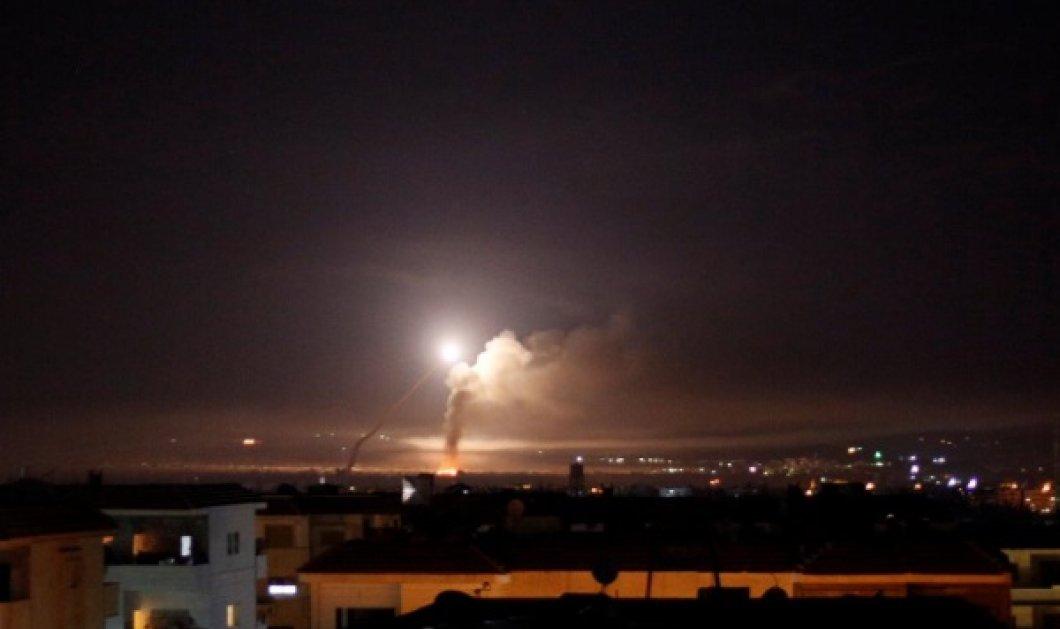 """""""Φλέγεται"""" η Μέση Ανατολή: Επίθεση με ρουκέτες τη νύχτα από το Ιράν & η απάντηση του Ισραήλ - Κυρίως Φωτογραφία - Gallery - Video"""