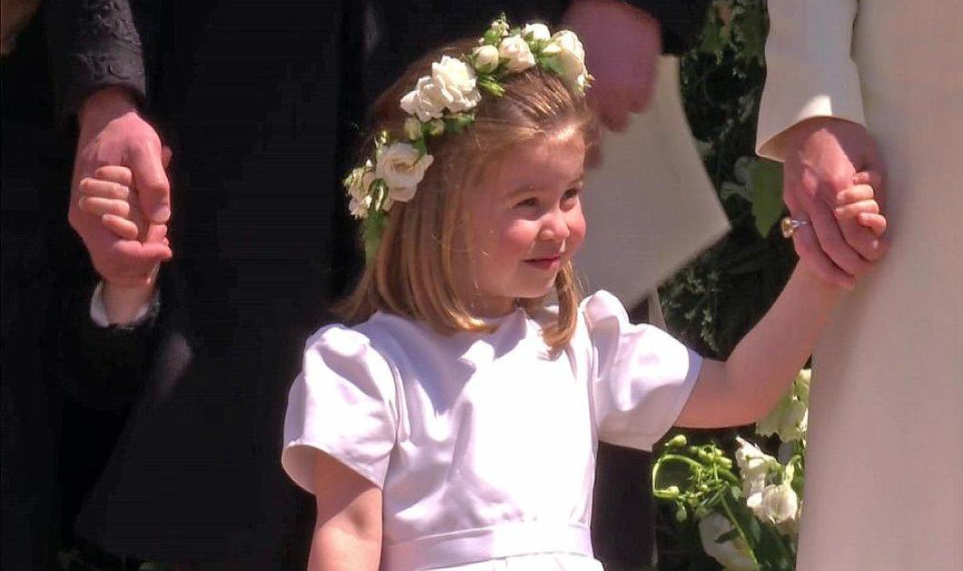 Η σταρ του γάμου Harry-Meghan ήταν η Σάρλοτ (ΦΩΤΟ & VIDEO) - Κυρίως Φωτογραφία - Gallery - Video