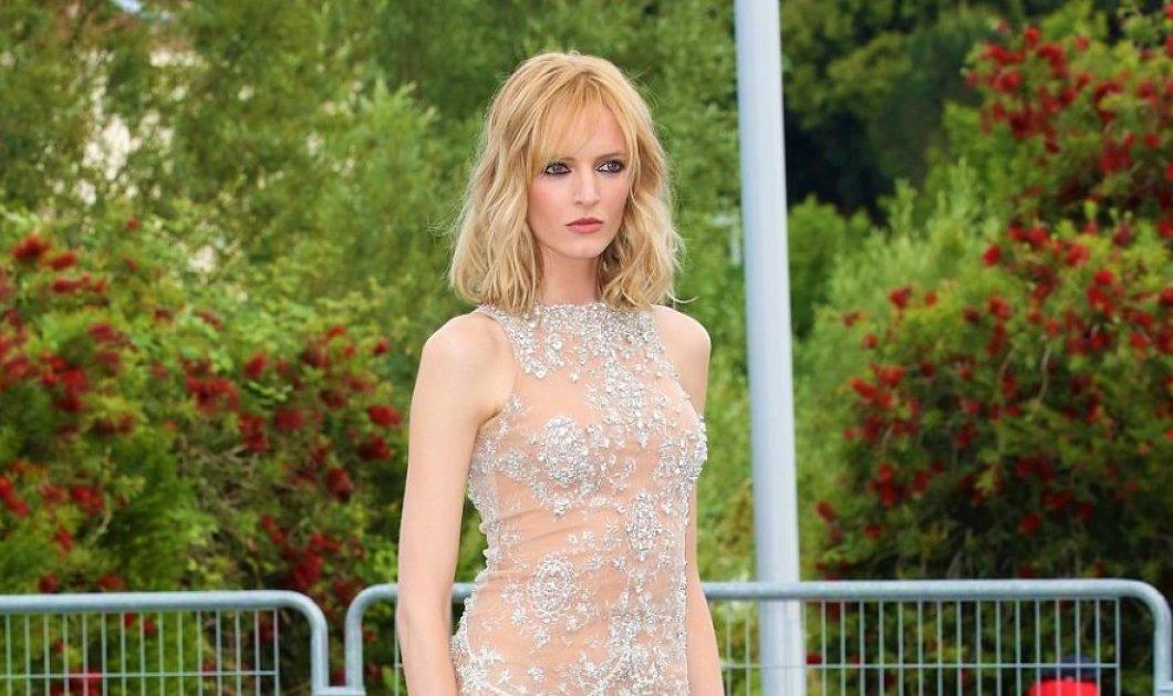 Χρώμα ελληνικό στις Κάννες: Supermodels και μεγάλες σταρς φορούν Celia Kritharioti Haute Couture και κερδίζουν τις εντυπώσεις  - Κυρίως Φωτογραφία - Gallery - Video