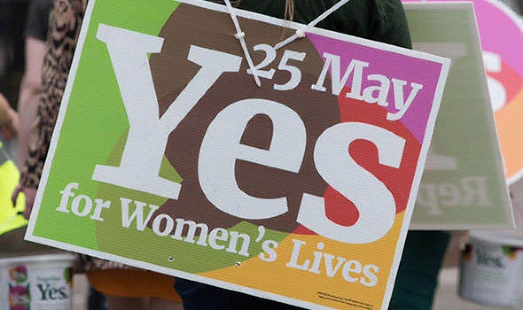 Ιρλανδία: συντριπτική υπεροχή του «ΝΑΙ» στο δημοψήφισμα για τη νομιμοποίηση των αμβλώσεων - Κυρίως Φωτογραφία - Gallery - Video