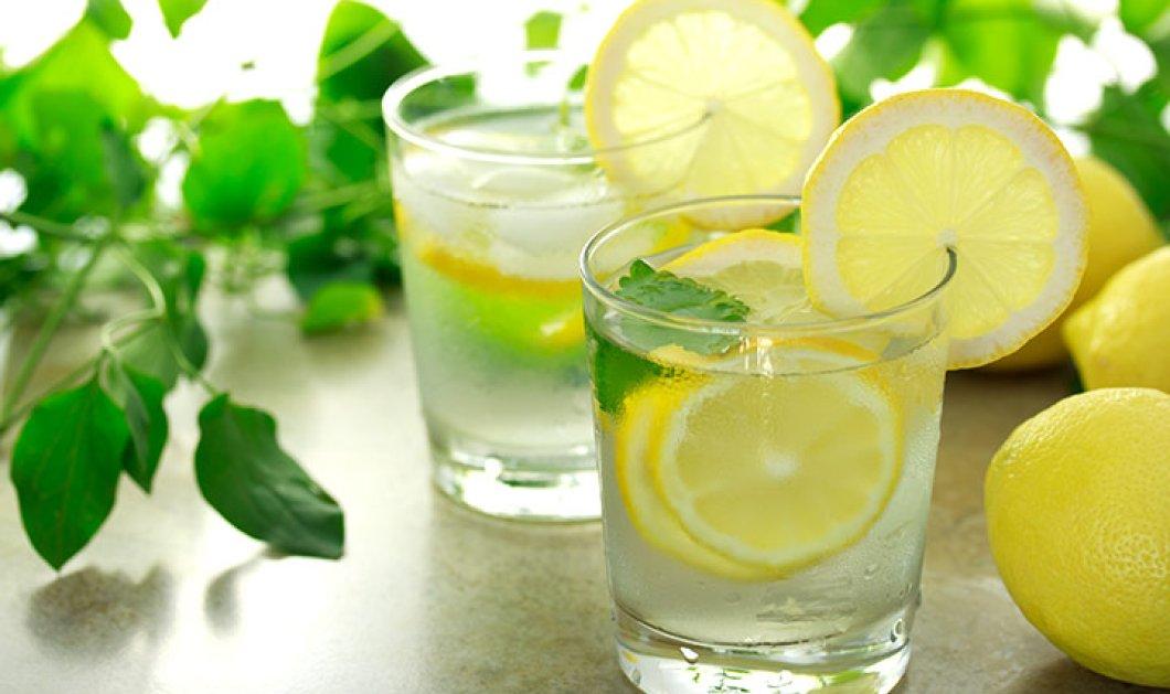 Να τι θα γίνει εάν πίνετε νερό με λεμόνι κάθε μέρα για ένα μήνα! - Κυρίως Φωτογραφία - Gallery - Video