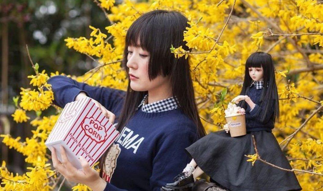 Καταπληκτικό ή τρελό; Γιαπωνέζα μοντέλο- φωτογράφος ποζάρει μαζί με την κούκλα ομοίωμά της (ΦΩΤΟ) - Κυρίως Φωτογραφία - Gallery - Video