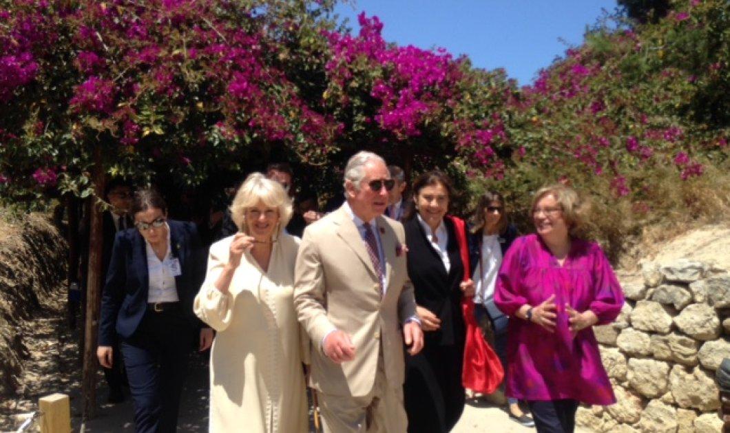Καρέ- καρέ η επίσκεψη Καρόλου & Καμίλας στην Κρήτη: Η ξενάγηση στην Κνωσό & το κρητικό γλέντι στις Αρχάνες (ΦΩΤΟ) - Κυρίως Φωτογραφία - Gallery - Video