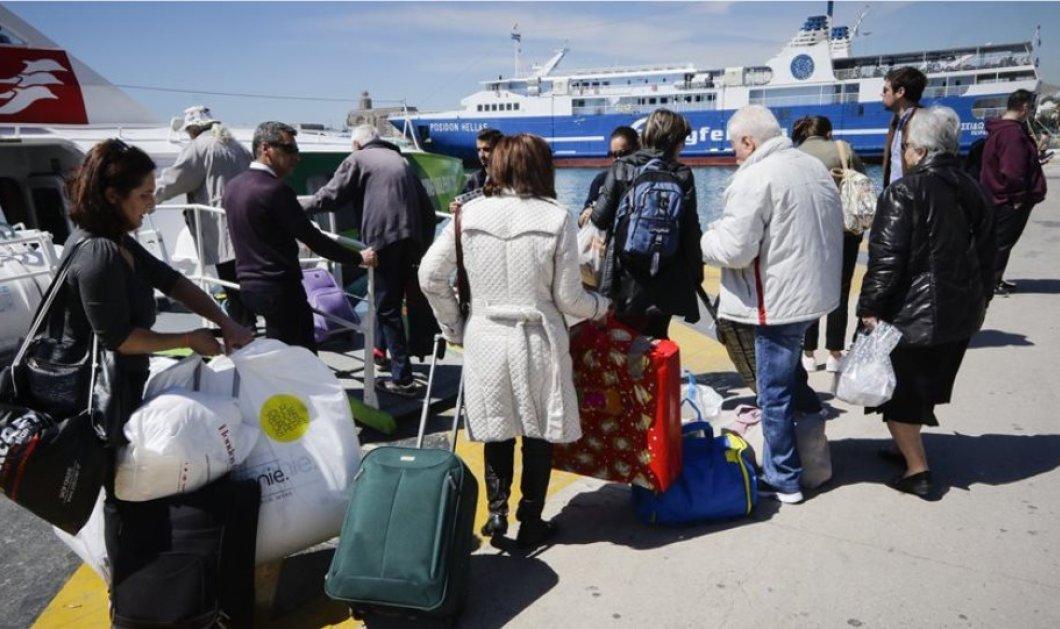 Με... αεροπλάνα βαπόρια και αυτοκίνητα φεύγουν οι Αθηναίοι για το τριήμερο - Χωρίς προβλήματα η έξοδος - Κυρίως Φωτογραφία - Gallery - Video
