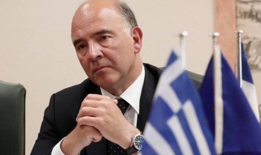 Μοσκοβισί: Πρέπει να διασφαλίσουμε ότι οι Ελληνες δεν θα ζήσουν την ίδια τραγωδία ποτέ ξανά - Κυρίως Φωτογραφία - Gallery - Video