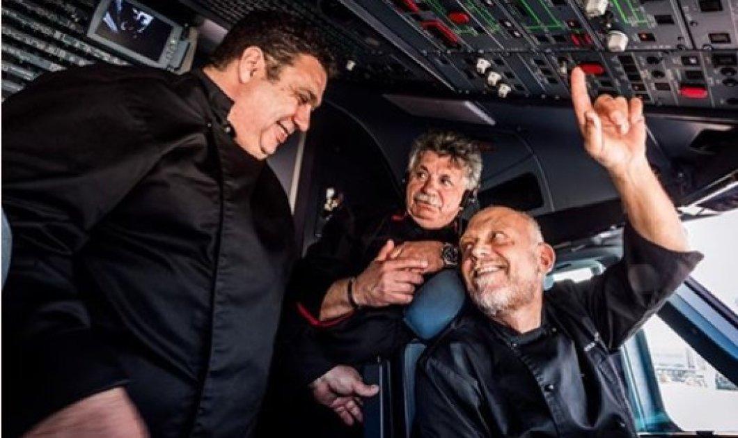 Να η απάντηση! Τελικά Πέσκιας, Λαζάρου & Παρλιάρος θα «πετάνε» μαζί κάθε μέρα... business class!  - Κυρίως Φωτογραφία - Gallery - Video
