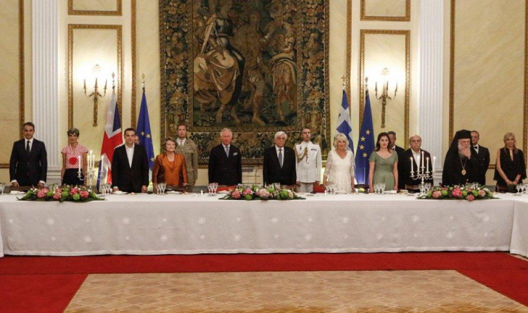 Όλα όσα έγιναν στο δείπνο προς τιμήν του Καρόλου & της Καμίλα στο Προεδρικό Μέγαρο- Οι λαμπερές εμφανίσεις (ΦΩΤΟ) - Κυρίως Φωτογραφία - Gallery - Video