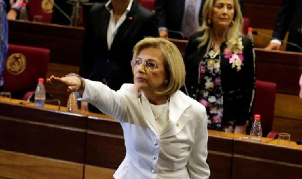Και το όνομα αυτής Αλίσια Πουτσέτα 68 ετών: Για πρώτη φορά μια γυναίκα αναλαμβάνει πρόεδρος στην Παραγουάη - Κυρίως Φωτογραφία - Gallery - Video