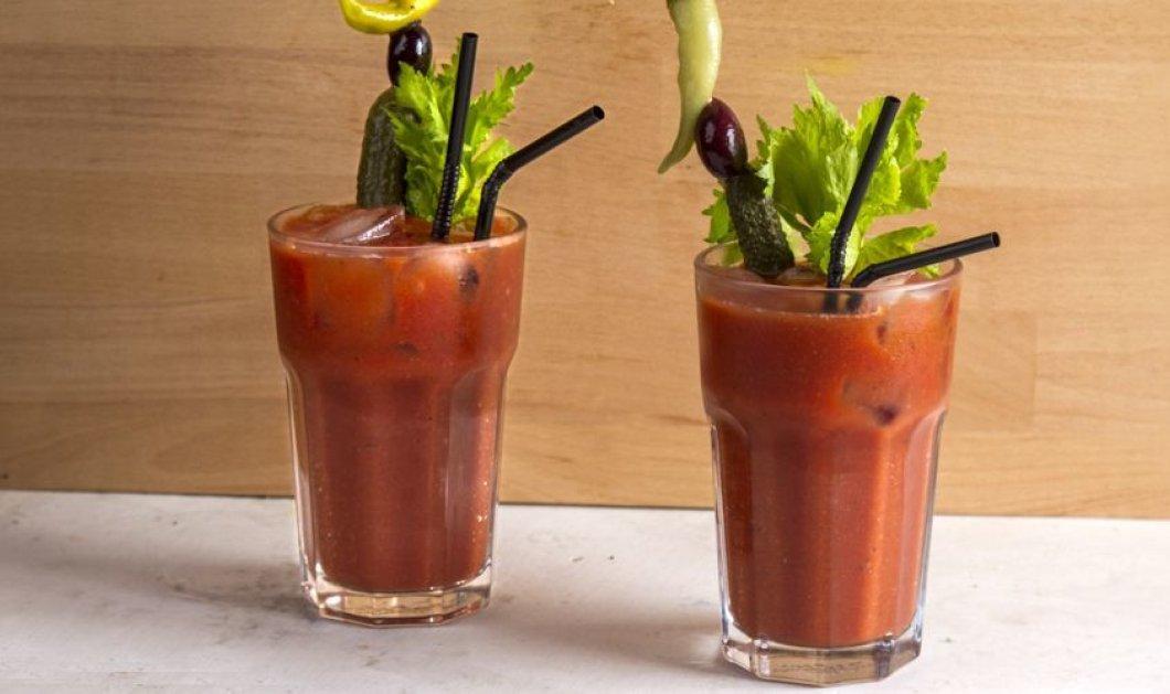 Ο μοναδικός μας Άκης Πετρετζίκης δημιουργεί: Αντιοξειδωτικό Bloody Mary! Δείτε πως   - Κυρίως Φωτογραφία - Gallery - Video