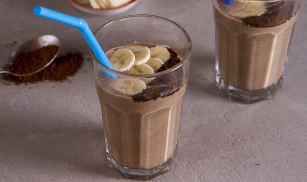 Φοβερό smoothie με μπανάνα και καφέ από τον εκπληκτικό μας Άκη Πετρετζίκη!  - Κυρίως Φωτογραφία - Gallery - Video