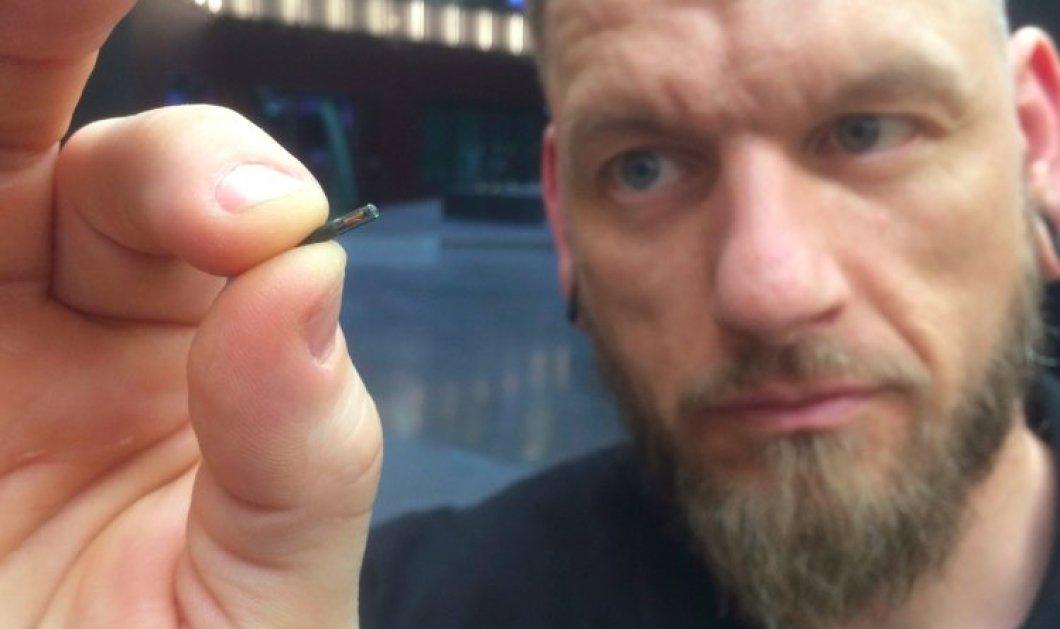 Σουηδία: Εμφυτεύουν μικροτσίπ στο δέρμα τους (VIDEO) - Κυρίως Φωτογραφία - Gallery - Video