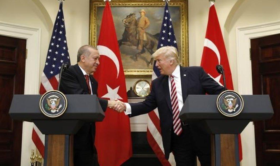 """Τραμπ - Ερντογάν: Μονομαχία στην κόκκινη ημισέληνο! """"Παγώνει"""" η πώληση όπλων στην Τουρκία! Το """"εμπάργκο"""" & η οργή - Κυρίως Φωτογραφία - Gallery - Video"""