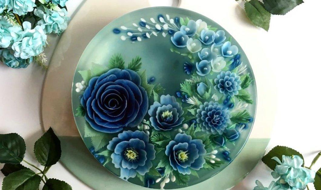 Οι πιο εντυπωσιακές 3D τριανταφυλλένιες τούρτες γεμάτες χρώματα και φαντασία (ΦΩΤΟ) - Κυρίως Φωτογραφία - Gallery - Video