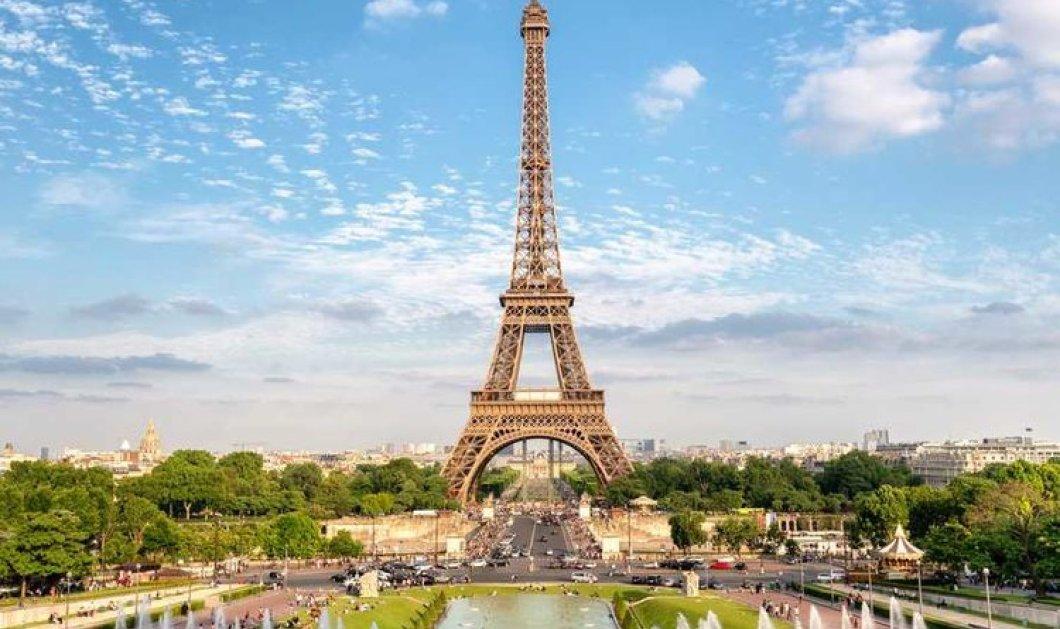Οι απόγονοι του Γουστάβου Άιφελ φωτογραφίζονται μπροστά στον περίφημο Πύργο! 300 εργάτες ένωσαν 18.038 κομμάτια σιδήρου για να το φτιάξουν - Κυρίως Φωτογραφία - Gallery - Video