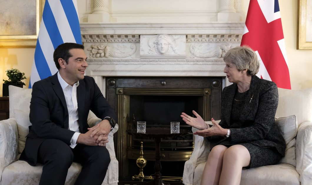 """Συνάντηση Τσίπρα- Μέι στο Λονδίνο- Όσα δήλωσε ο Έλληνας Πρωθυπουργός για την """"εποικοδομητική"""" τους συζήτηση (ΒΙΝΤΕΟ-ΦΩΤΟ) - Κυρίως Φωτογραφία - Gallery - Video"""