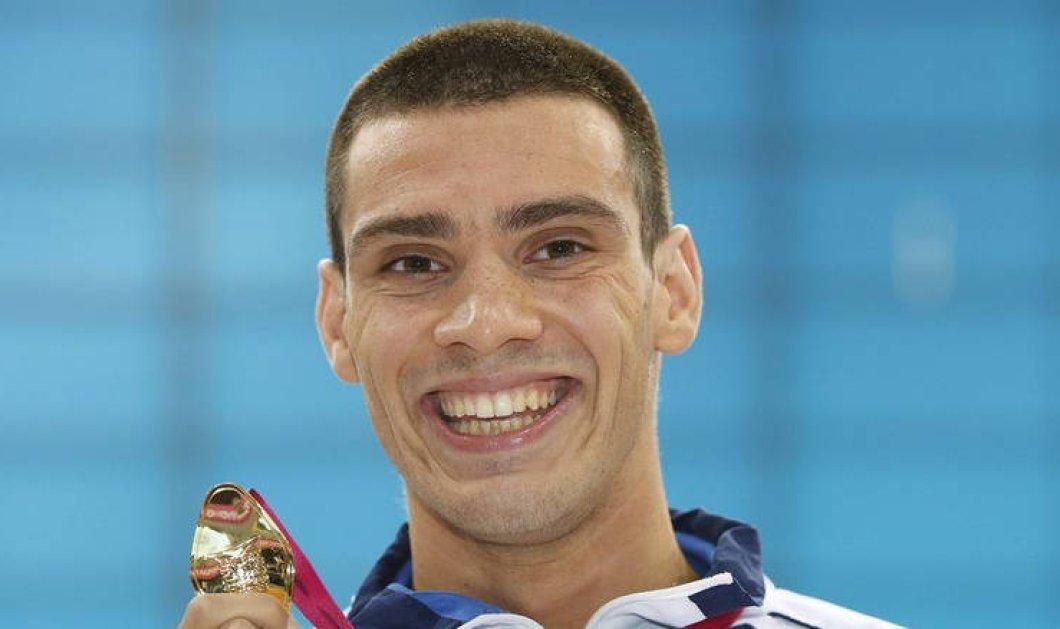 Χρυσός στην κολύμβηση ο Ανδρέας Βαζαίος - Πέντε μετάλλια για την Ελλάδα στους Μεσογειακούς Αγώνες της Ταραγόνα - Κυρίως Φωτογραφία - Gallery - Video