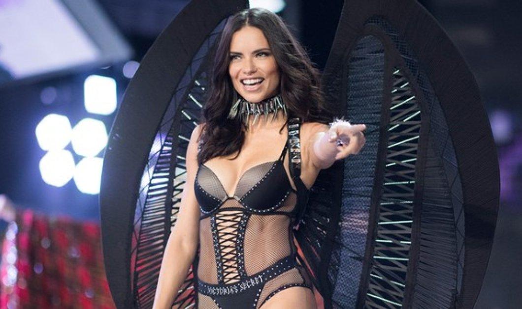 """Ανδριάνα Λίμα: Το αγγελάκι της Victoria Secret ποζάρει ως """"κοινή θνητή""""- Αμακιγιάριστη & ιδρωμένη στο γυμναστήριο (ΦΩΤΟ) - Κυρίως Φωτογραφία - Gallery - Video"""