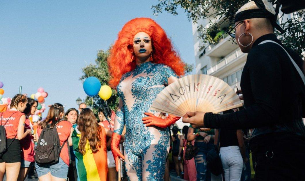Athens Pride 2018: Η πολύχρωμη γιορτή της ΛΟΑΤΚΙ κοινότητας (ΦΩΤΟ) - Κυρίως Φωτογραφία - Gallery - Video