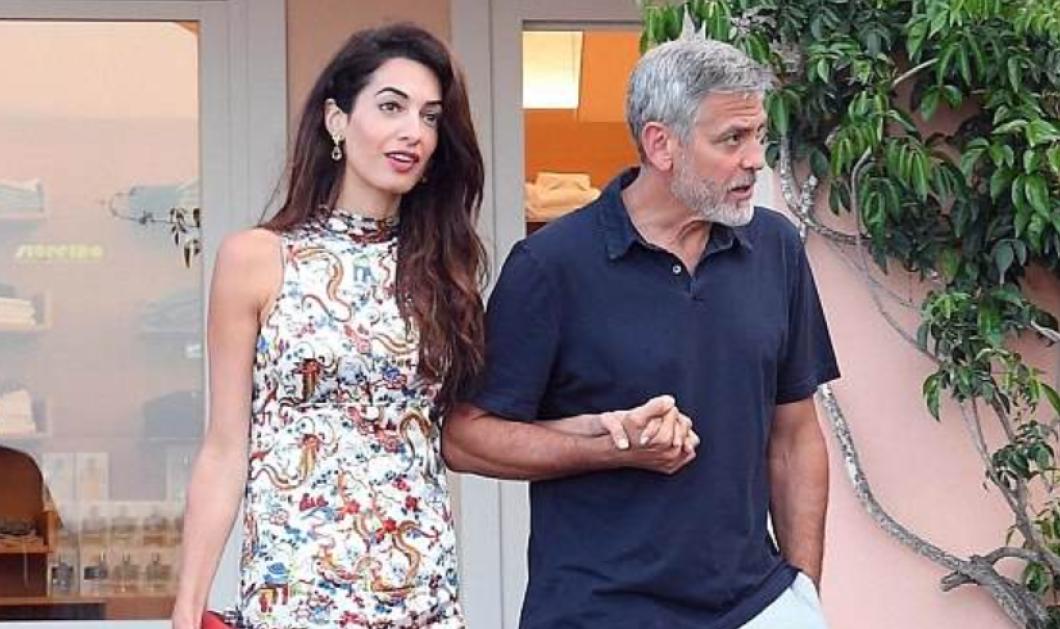 Ξανά πατέρας ο George Clooney; Ιδού οι πρώτες εικόνες της Amal με φουσκωμένη κοιλίτσα! (ΦΩΤΟ - ΒΙΝΤΕΟ)  - Κυρίως Φωτογραφία - Gallery - Video