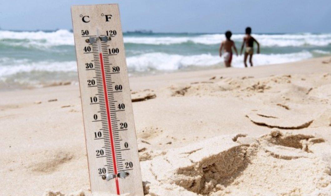 """Καιρός: Καύσωνας & σκόνη- Σε ποιες περιοχές ο υδράργυρος θα """"σκαρφαλώσει"""" μέχρι τους 37 βαθμούς - Κυρίως Φωτογραφία - Gallery - Video"""