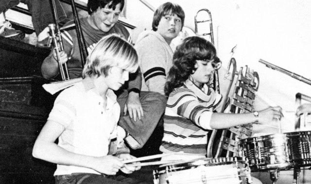Σπάνιες, vintage φωτογραφίες: Όταν οι σταρς ήταν έφηβοι & συμμετείχαν σε σχολικές μπάντες! (ΦΩΤΟ) - Κυρίως Φωτογραφία - Gallery - Video