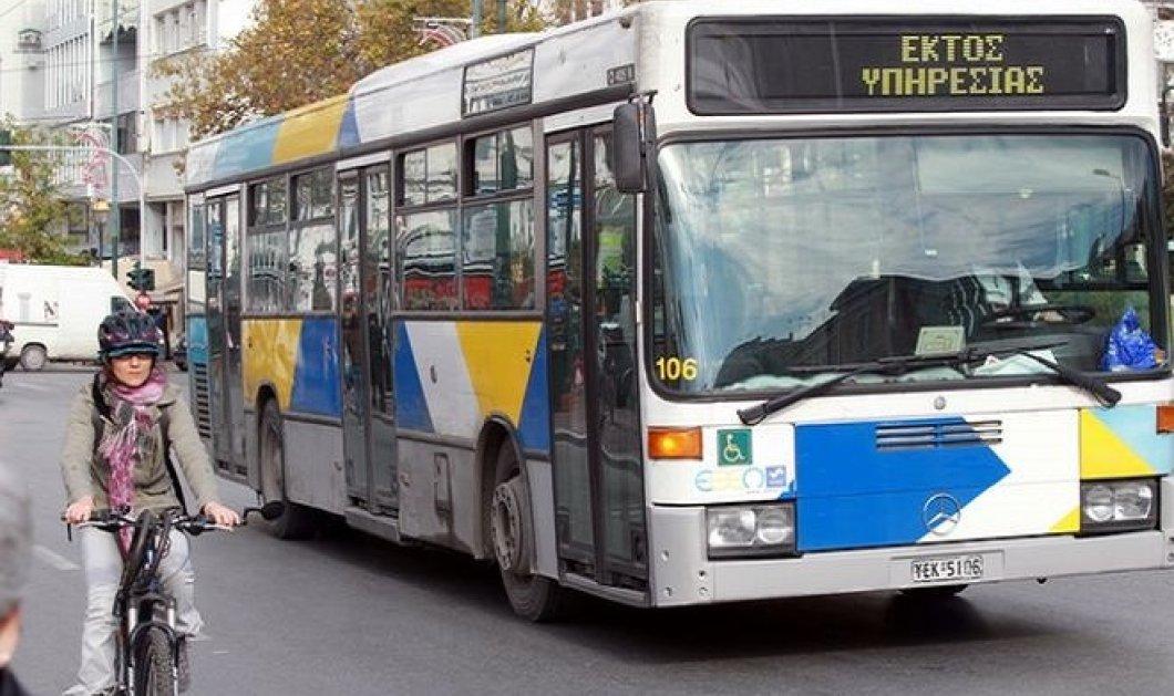 Στάσεις εργασίας στα λεωφορεία την επόμενη εβδομάδα - Ταλαιπωρία για τους επιβάτες - Κυρίως Φωτογραφία - Gallery - Video