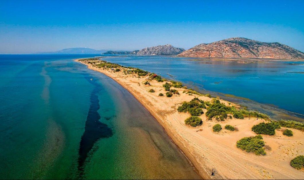 Λούρος Αιτωλοακαρνανίας: Η μεγαλύτερη παραλία της Ελλάδος με μήκος 17 χλμ! - Κυρίως Φωτογραφία - Gallery - Video