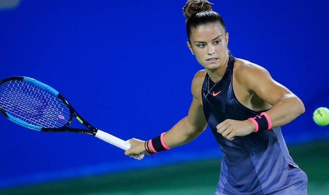 Τεράστια επιτυχία για το ελληνικό τένις: Για πρώτη φορά στο #33 η Μαρία Σάκκαρη - Κυρίως Φωτογραφία - Gallery - Video