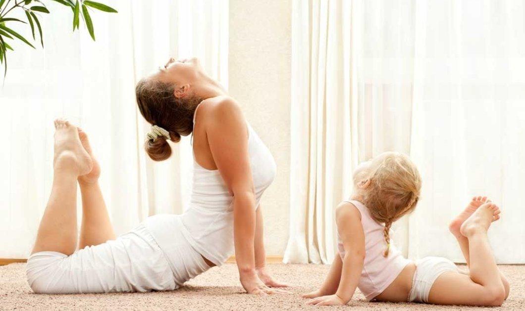 Για ποιους λόγους μια νέα μαμά πρέπει να κάνει γιόγκα; - Κυρίως Φωτογραφία - Gallery - Video