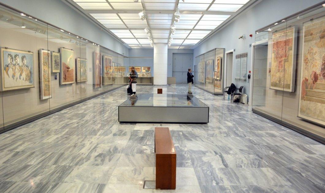 Tο Αρχαιολογικό Μουσείο Ηρακλείου ανοικτό ως τις 8, η τουαλέτα ως τις 3; Όταν η καθαρίστρια έχει ρεπό;  - Κυρίως Φωτογραφία - Gallery - Video