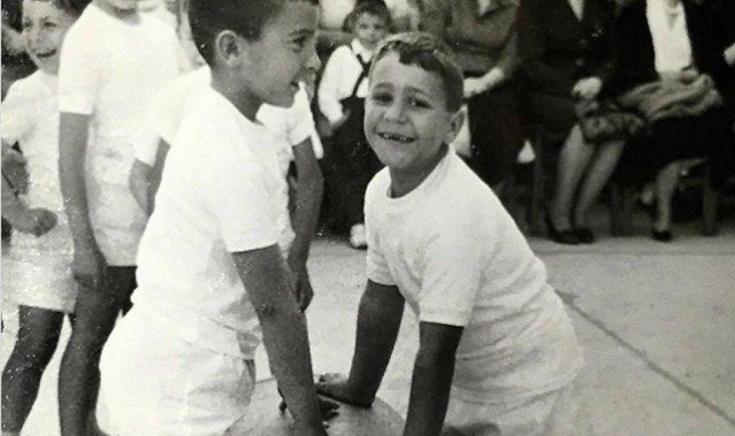 """Είναι πολύ γνωστός Έλληνας παρουσιαστής στα παιδικά του χρόνια- Όταν έκανε """"ακροβατικά"""" με τους συμμαθητές του! - Κυρίως Φωτογραφία - Gallery - Video"""