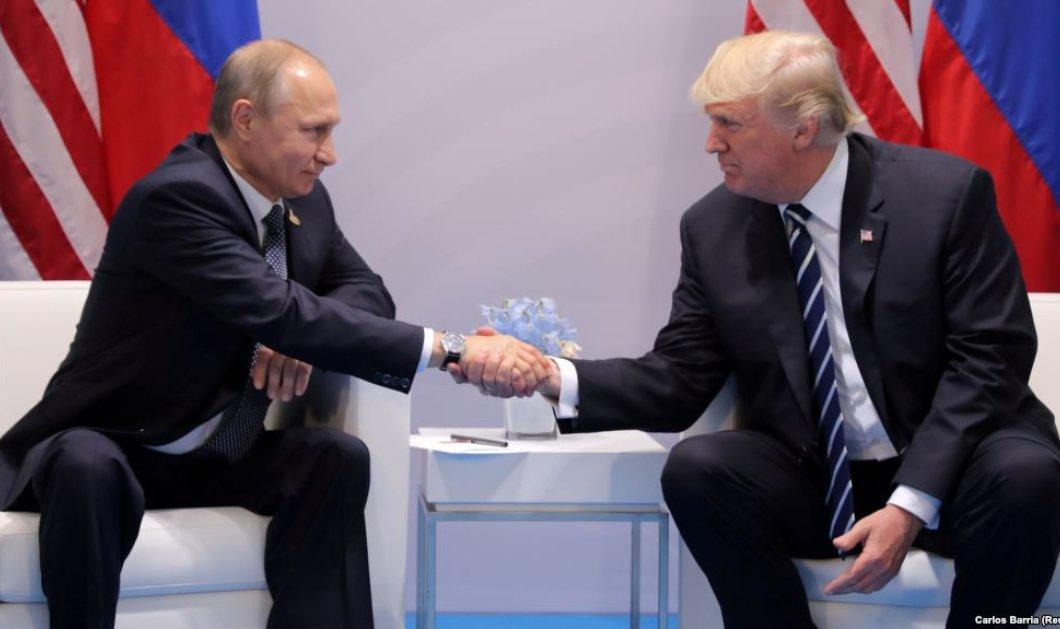 Είναι επίσημο: Τραμπ και Πούτιν θα συναντηθούν στις 16 Ιουλίου στο Ελσίνκι - Κυρίως Φωτογραφία - Gallery - Video
