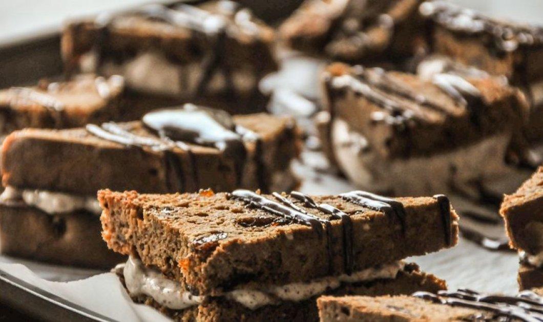 Πεντανόστιμα σοκολατένια sandwiches από τον Άκη Πετρετζίκη - Κυρίως Φωτογραφία - Gallery - Video