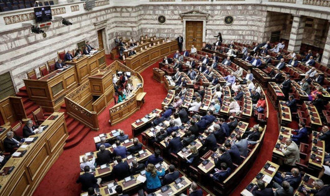 Απορρίφθηκε η πρόταση δυσπιστίας κατά της Κυβέρνησης - Κυρίως Φωτογραφία - Gallery - Video