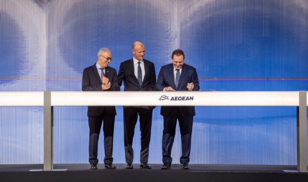 Good news : Υπεγράφη επίσημα η  συμφωνία της Aegean  με την Airbus για τα   42 νέα αεροσκάφη Α320 5 δισ. δολαρίων  - Κυρίως Φωτογραφία - Gallery - Video
