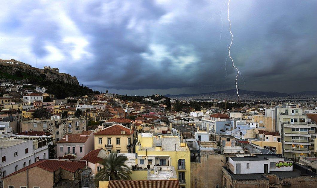 """""""Άνοιξαν οι ουρανοί""""- Καλοκαιρινό μπουρίνι δημιουργεί προβλήματα στην Αθήνα και σε όλη την Ελλάδα (βιντεο) - Κυρίως Φωτογραφία - Gallery - Video"""