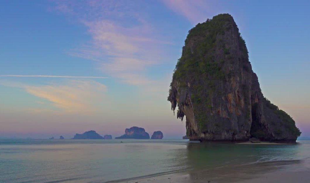 Πραγματικά μου έκοψε την ανάσα αυτό το βίντεο: Έπεσε από τον πιο κατακόρυφο και ψηλο βράχο στη θάλασσα - Κυρίως Φωτογραφία - Gallery - Video