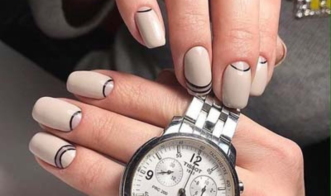 60+ υπέροχες ιδέες για ημιμόνιμο μανικιούρ με σχέδια στα νύχια σας (ΦΩΤΟ) - Κυρίως Φωτογραφία - Gallery - Video