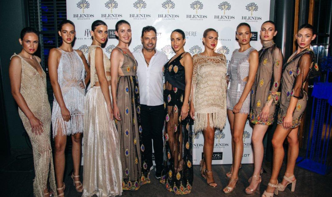 Tassos Mitropoulos Blended Fashion Show 2018: Περίτεχνα κρόσσια, ρομαντικές δαντέλες & αέρινα τούλια στην πιο αιθέρια συλλογή του καλοκαιριού - Κυρίως Φωτογραφία - Gallery - Video