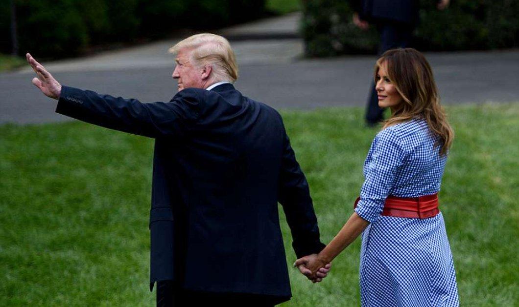 Ο έρωτας & ο βήχας δεν κρύβονται- Χεράκι χεράκι οι Τραμπ- Το ταιριαστό outfit της Μελάνια (ΦΩΤΟ-ΒΙΝΤΕΟ) - Κυρίως Φωτογραφία - Gallery - Video