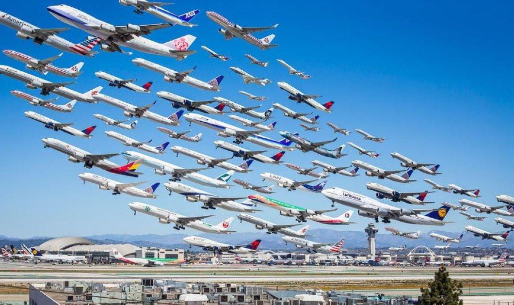 Την Παρασκευή καταγράφηκε ρεκόρ πτήσεων με 202.000 αεροπλάνα στον αέρα! (Φωτό) - Κυρίως Φωτογραφία - Gallery - Video