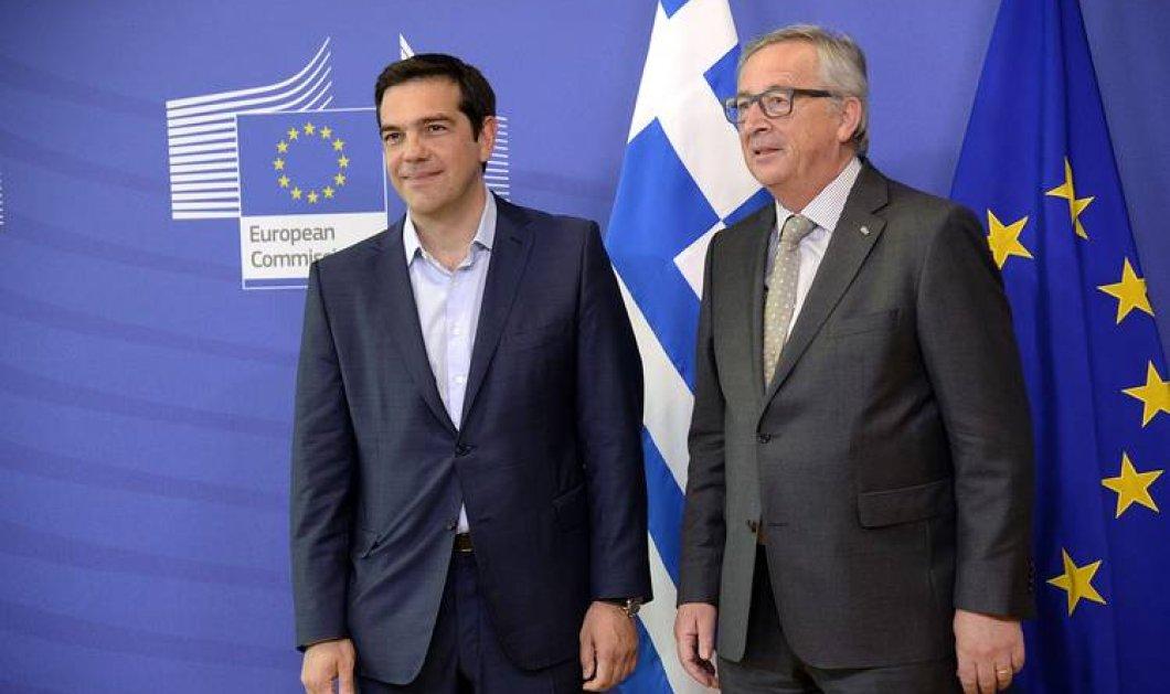 Επικοινωνία Τσίπρα - Γιούνκερ: Στο πλευρό της Αθήνας οι Βρυξέλλες - Κυρίως Φωτογραφία - Gallery - Video