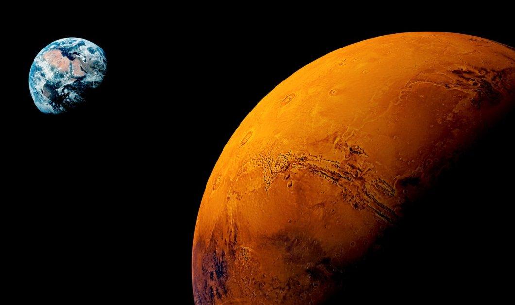 Τα μάτια στον Ουρανό: Ο πλανήτης Άρης, αύριο, θα είναι ο πιο φωτεινός της τελευταίας 15ετίας - Κυρίως Φωτογραφία - Gallery - Video